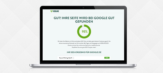 SEO Checker VERDURE