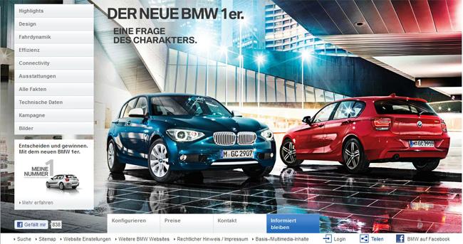 BMW Top-Thema: Der neue 1er