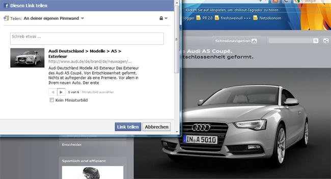 Audi Top Thema: Der neue A5